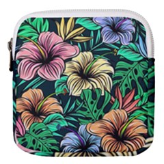Hibiscus Dream Mini Square Pouch