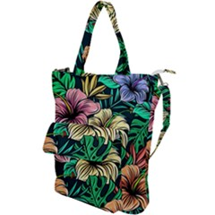 Hibiscus Dream Shoulder Tote Bag