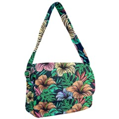 Hibiscus Dream Courier Bag