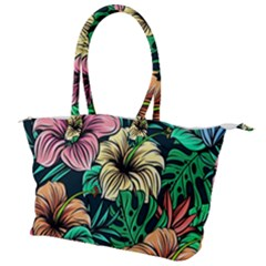 Hibiscus Dream Canvas Shoulder Bag