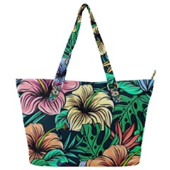 Hibiscus Dream Full Print Shoulder Bag