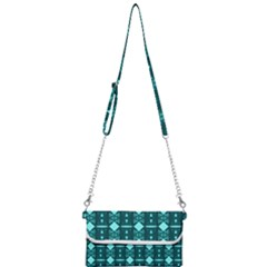 Background Plaid Mini Crossbody Handbag by AnjaniArt