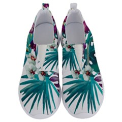 Tropical Flowers No Lace Lightweight Shoes