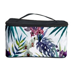 Tropical Flowers Pattern Cosmetic Storage by goljakoff