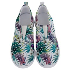 Tropical Flowers Pattern No Lace Lightweight Shoes by goljakoff