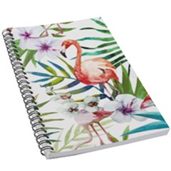 Rose Flamingo 5 5  X 8 5  Notebook by goljakoff