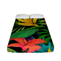 Tropical Adventure Fitted Sheet (full/ Double Size)