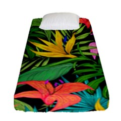 Tropical Adventure Fitted Sheet (single Size)