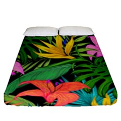 Tropical Adventure Fitted Sheet (queen Size)
