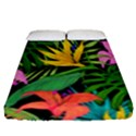 Tropical Adventure Fitted Sheet (Queen Size) View1