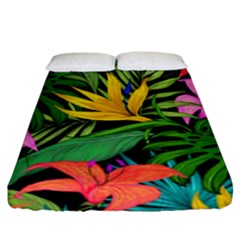 Tropical Adventure Fitted Sheet (king Size)