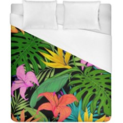 Tropical Adventure Duvet Cover (california King Size)
