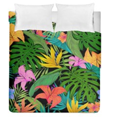 Tropical Adventure Duvet Cover Double Side (queen Size)