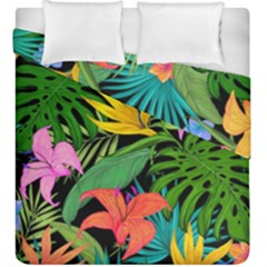 Tropical Adventure Duvet Cover Double Side (king Size)