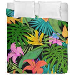 Tropical Adventure Duvet Cover Double Side (california King Size)