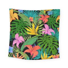 Tropical Adventure Square Tapestry (small)