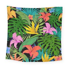 Tropical Adventure Square Tapestry (large)