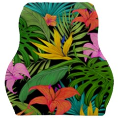 Tropical Adventure Car Seat Velour Cushion