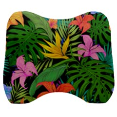 Tropical Adventure Velour Head Support Cushion