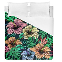 Hibiscus Dream Duvet Cover (queen Size)