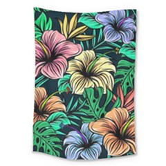 Hibiscus Dream Large Tapestry
