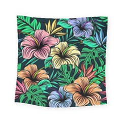 Hibiscus Dream Square Tapestry (small)