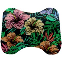 Hibiscus Dream Head Support Cushion
