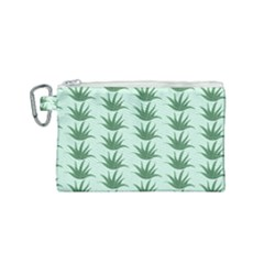 Aloe Ve You, Very Much  Canvas Cosmetic Bag (small) by WensdaiAddamns