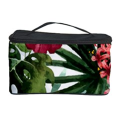 Monstera Flowers Cosmetic Storage by goljakoff