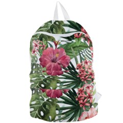 Monstera Flowers Foldable Lightweight Backpack by goljakoff