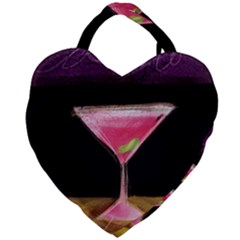 Cosmo Cocktails Giant Heart Shaped Tote
