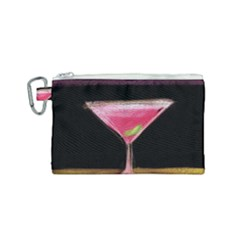 Cosmo Cocktails Canvas Cosmetic Bag (small)