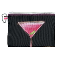 Cosmo Cocktails Canvas Cosmetic Bag (xl)