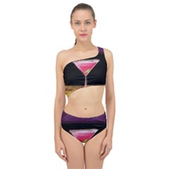 Cosmo Cocktails Spliced Up Two Piece Swimsuit