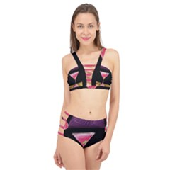 Cosmo Cocktails Cage Up Bikini Set