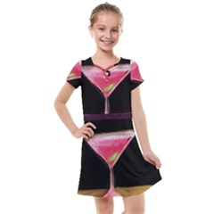 Cosmo Cocktails Kids  Cross Web Dress