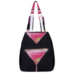 Cosmo Cocktails Center Zip Backpack