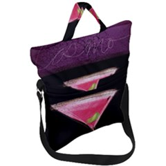 Cosmo Cocktails Fold Over Handle Tote Bag