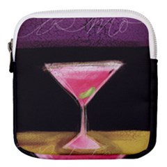 Cosmo Cocktails Mini Square Pouch by StarvingArtisan