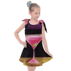 Cosmo Cocktails Kids  Tie Up Tunic Dress