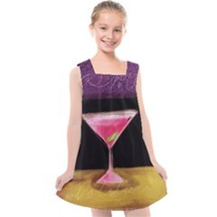 Cosmo Cocktails Kids  Cross Back Dress