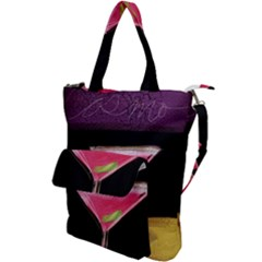 Cosmo Cocktails Shoulder Tote Bag