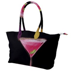 Cosmo Cocktails Canvas Shoulder Bag