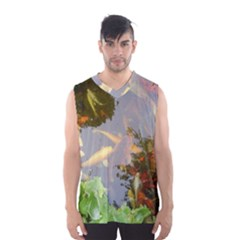 Koi Fish Pond Men s Basketball Tank Top
