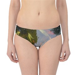 Koi Fish Pond Hipster Bikini Bottoms