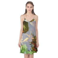 Koi Fish Pond Camis Nightgown
