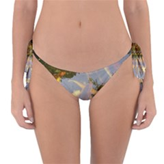 Koi Fish Pond Reversible Bikini Bottom