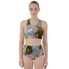 Koi Fish Pond Racer Back Bikini Set