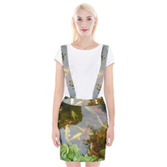 Koi Fish Pond Braces Suspender Skirt