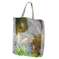 Koi Fish Pond Giant Grocery Tote